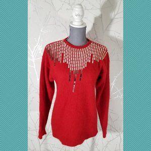 Bay Club Vintage Lambswool Angora Blend Sweater